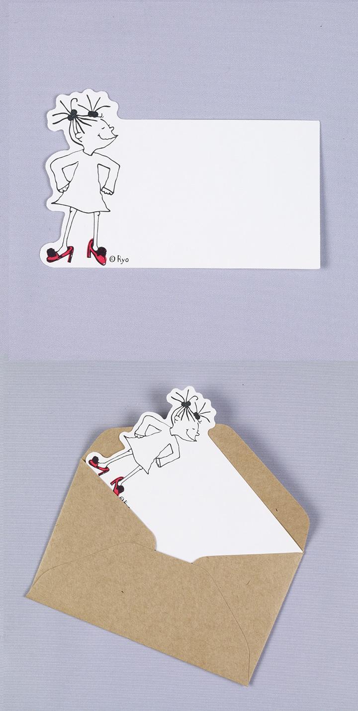 ココダイカットネームカードセット ハイヒール詳細